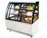 頂点の高品質の標準の商業ケーキの飾り戸棚