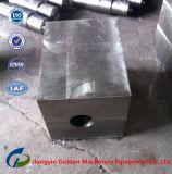 造られたステンレス鋼の版によって造られる鋼鉄ブロック