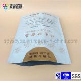 박판으로 만들어진 부대 포장 차 또는 커피는 Ziplock를 가진 주머니를 위로 서 있다