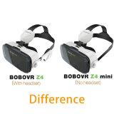 Шлемофон коробки 2.0 Bobo Vr картона Google стекел изумлённых взглядов 3D Vr фактически реальности Bobovr Z4/Z4 миниый для 4.0-6.0 дюймов Smartphones