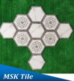 Hexagon-Porzellan Wall&Floor Fliese Kpya23009q