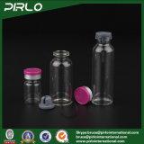 3ml 5ml 10ml 15ml 20ml 25ml 30ml annullano la vibrazione di vetro farmaceutica di Bottle& fuori dalla protezione rossa, bottiglia libera della medicina