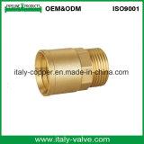 クロム染料で染められたまっすぐな管のカップリング(AV-BF-8015)を磨く黄銅