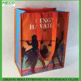 Le sac d'emballage non tissé de client, avec conçoivent en fonction du client &Size