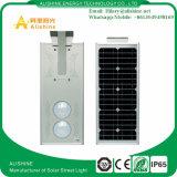 Nueva luz de calle solar integrada al aire libre 25W con la batería LiFePO4