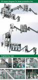 Fábrica de tratamento verde aprovada da pelota da madeira de combustível da energia do CE