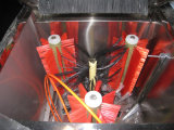 Lavatrice interna della bottiglia della spazzola della bottiglia da 5 galloni