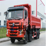 파키스탄에 있는 10의 바퀴 최신 판매를 가진 8*4의 중국 Cdw 힘 덤프 트럭 팁 주는 사람 트럭