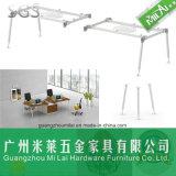 La alta calidad Metals el sitio de trabajo modular de la oficina de la pierna del escritorio