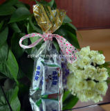BOPP flache Unterseiten-Quadrat-transparenter Beutel für Süßigkeit, Geschenk, Nahrung, Brot-Beutel mit Drucken