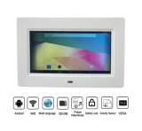 Pantalla ancha de 10 pulgadas WiFi Digital Photo Frame 3G Bluetooth para el anuncio