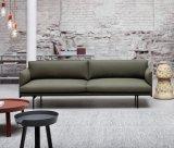 Sofá casero moderno de la tela de la sala de estar de los muebles (HC157)