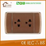 Soquete de confiança da qualidade 3pin com carregador do USB