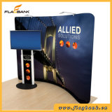 20FT曲げられたアルミニウム張力ファブリックWaveline  Stand&#160を現れなさい;