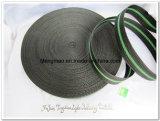 tessitura verde nera del polipropilene 450d