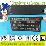 3HP dirigent le compresseur d'air portatif piloté de piston de vis