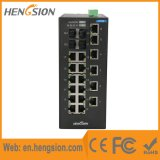 Interruptor industrial portuario de la red de Ethernet 18 con 4 gigabites de combinado