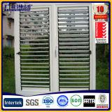 Matériau du cadre en alliage d'aluminium et type fixe Fenêtre en verre en aluminium