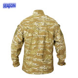 Реактивным напечатанные камуфлированием военные формы куртки пустыни
