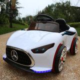 Passeio elétrico dos miúdos no carro, carro de bateria de controle remoto do carro da potência para miúdos