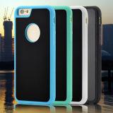 Caja nana antigravedad del teléfono celular de silicio de la adsorción para el iPhone 7/7 más