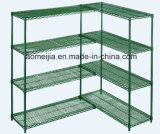 5  Tiers  Metal  Wire  Display  Prateleira/Rack  for  Loja Mall