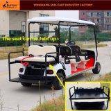 좋은 품질 6 Seater 골프 코스를 위한 전기 골프 카트
