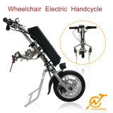 Handcycle eléctrico de moda y respetuoso del medio ambiente para la silla de ruedas