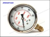 """2.5 """" indicateurs de pression remplis par liquide/manomètre--Type inférieur"""