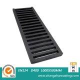 Gratings Ductile resistentes extra da sarjeta das BS En124 E600 do ferro