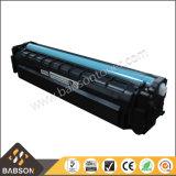 Cartucho de toner vendedor caliente de la impresora CF400A/CF401A/CF402A/CF403A para HP M252n