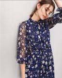 Платье способа фе 3/4 повелительниц напечатанное втулкой шикарное