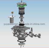 Válvula automática del suavizador de agua de la función avanzada del LED con tecnología vacía de la cabina de la sal