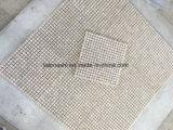 Mosaico del mármol del cuadrado de la fuente de la fábrica para la decoración de la pared/del suelo