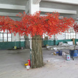 Garten-künstlicher rotes Ahornholz-Baum