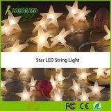 4m 20 Birnen wärmen weißes kühles Zeichenkette-Licht des Weiß RGB-Stern-LED