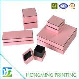 Kundenspezifisches Firmenzeichen gedruckte Papierschmucksache-Geschenk-Kästen