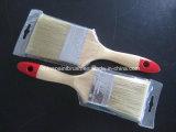 Escova de pintura de madeira do punho com cerda natural