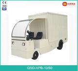 Gemaakt in de Hoogste Rang van China Vrachtwagen van het Type van Doos van 4 Ton de Elektrische