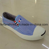 Misstap-op de Schoenen van het Canvas van de Injectie van Mensen met Goede Kwaliteit (FFZL1101-02)