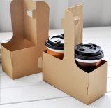 テイクアウェイのための再使用可能なEcoクラフトのコーヒー紙コップのホールダー