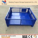 Gaiola/recipiente de aço resistentes Stackable fáceis do engranzamento