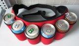 Seises neopreno de doce paquetes pueden envolver el refrigerador del bolso de totalizador del sostenedor