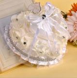 Descanso do portador de anel do casamento/coxim Heartshaped românticos (Dream-100044)