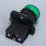 赤くか緑または黄色の22mmの押しボタンスイッチキー溝のブランド