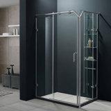 샤워실 단단하게 한 유리제 문