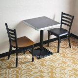 (SP-LC285)ビニールのシートが付いている喫茶店の梯子の背部金属のレストランの椅子