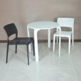 Напольные круглые оптовые белые пластичные таблица и стул (SP-CT348)