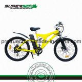 ブラシレス後部モーターを搭載する電気自転車