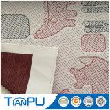 Tela que hace tictac hecha punto antimicrobiana del colchón